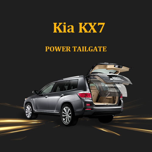 Kia KX7 smart intelligent power tailgate lift with automatic kick activated and remote control