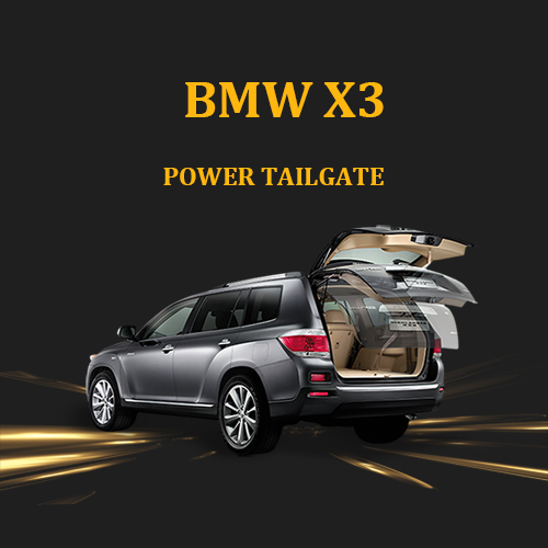 Automatic kick activated foot sensor SUV car gate automatic car trunk power liftgate for BMW X3