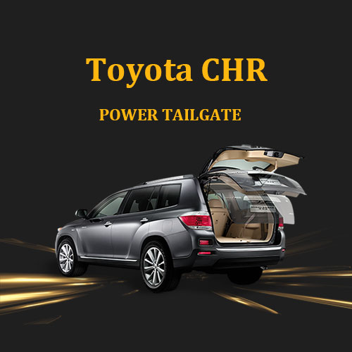Toyota CHR power boot electric tailgate lift with foot sensor easy to install