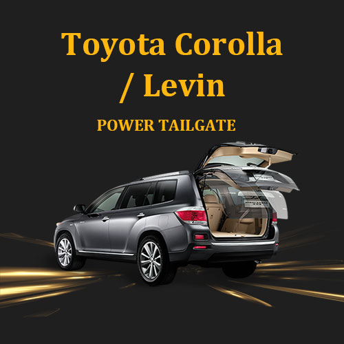 Retrofit automatic tailgate power boot for Toyota Corolla Levin compatible for your car trunk