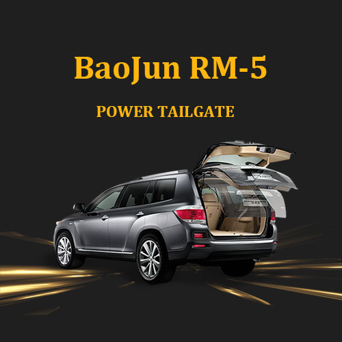 Factory outlet automatic electric tailgate lift with foot sensor optional for BaoJun RM-5