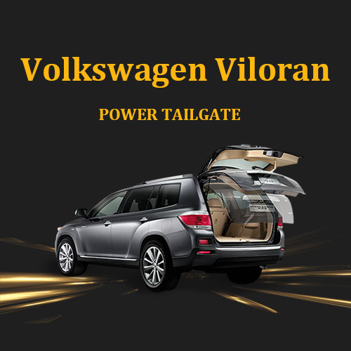 Retrofit kit hands free electric tailgate with remote control and foot sensor optional for VW Volkswagen Viloran