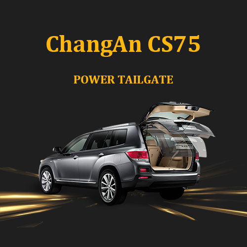 Automotive aftermarket hands free power liftgate power boot kit for ChangAn CS75