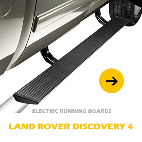 Land Rover Discovery 5 professional power-deployable retractable running boards offical pick up footstep
