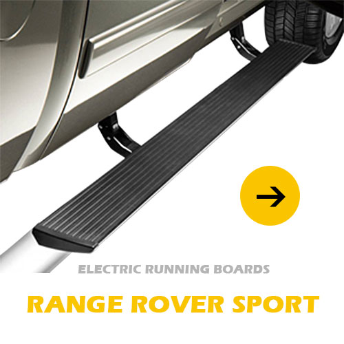 Power running board for Range Rover Sport aluminum electric side step automatic footrest step
