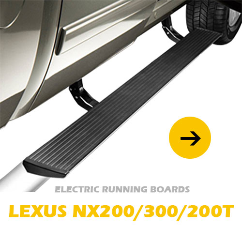 Pickup 4*4 Durable electric powered side step running boards for Lexus NX200 NX300 NX200T