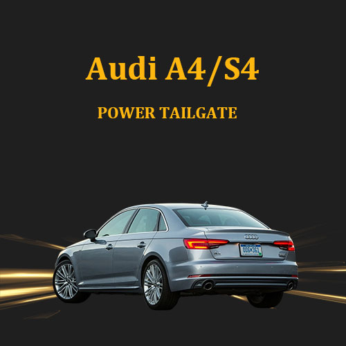 Car trunk accessories power operated tailgate open and close for Audi A4
