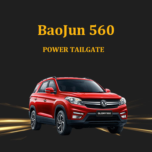 Newest electric auto power tail gate lift kit hands free easy opener system for BaoJun 560