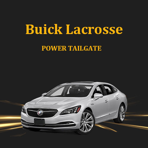Foot sensor device controlled opening and closing of electric tailgate lift for Buick Lacrosse