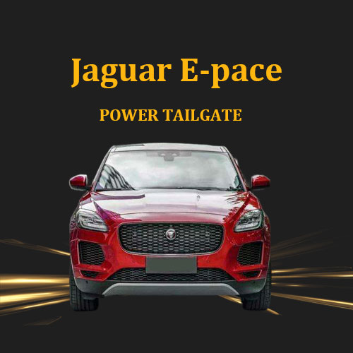 Jaguar E-Pace upgraded with the genuine Jaguar electric tailgate retrofit body kit