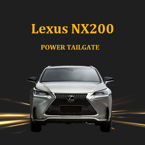 Auto modification electronic tailgate liftgate smart trunk with foot sensor for Lexus NX200