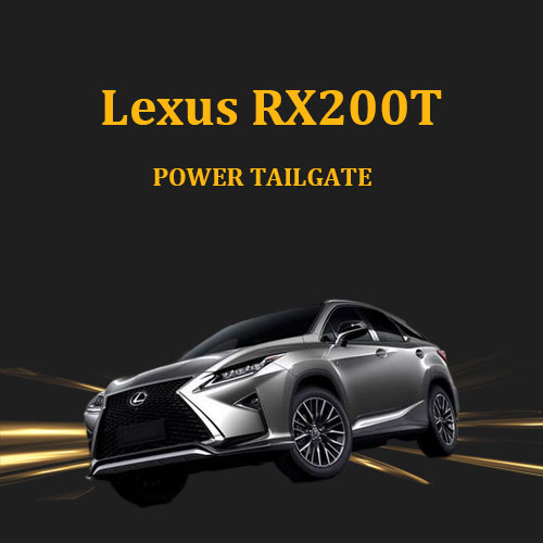 Hot selling upper suction lock soft close electric power tailgate for Lexus RX200T