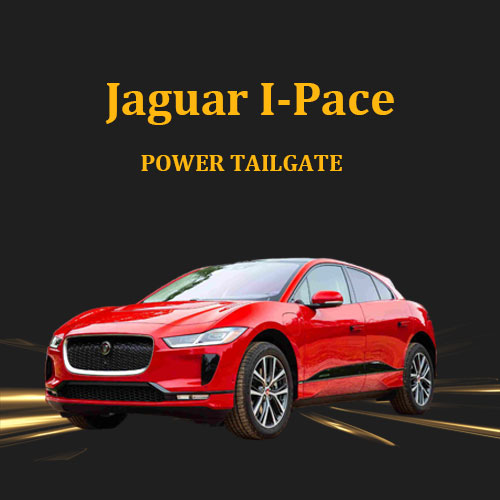 Kick activated hands free power tailgate opener with remote control for Jaguar I-Pace