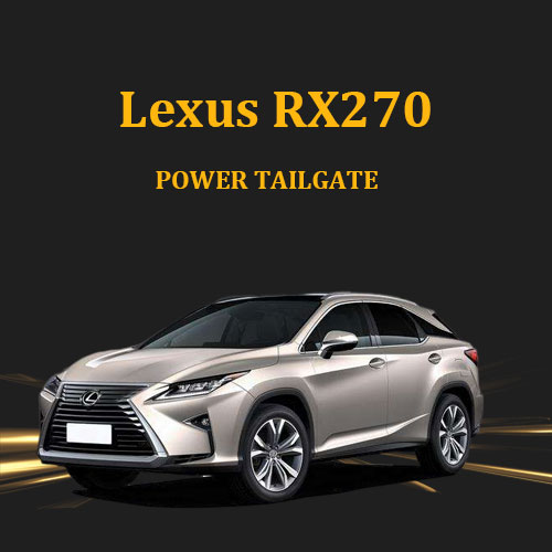 Auto car turnk luggage lexus tailgate with remote control and anti pinch for Lexus RX270