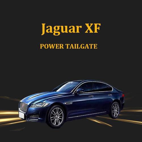 Global automotive power tailgate system with remote control and kick trigger optional for Jaguar XF
