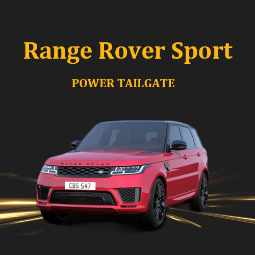 Adopt double vehicle electric struts smart electric tailgate with door open sensor for Range Rover sport