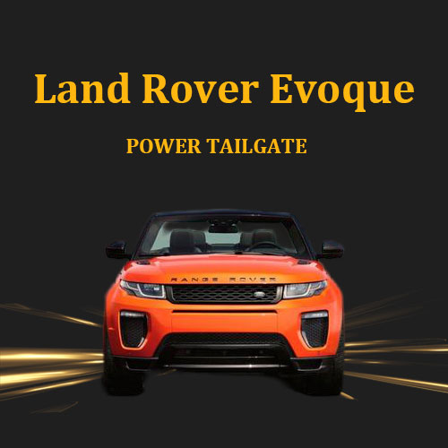 SUV foot sensor optional automatic lifting power electric tail gate lift for Range Rover Evoque