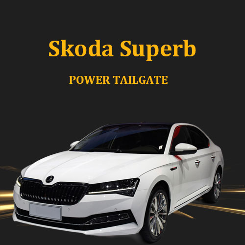 Fast delivery plug and play electric tailgate lift assist system with foot sensor device for Skoda Superb
