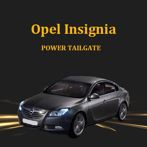 Foot sensor optional with remote control car auto trunk power boot lid for Opel Insignia