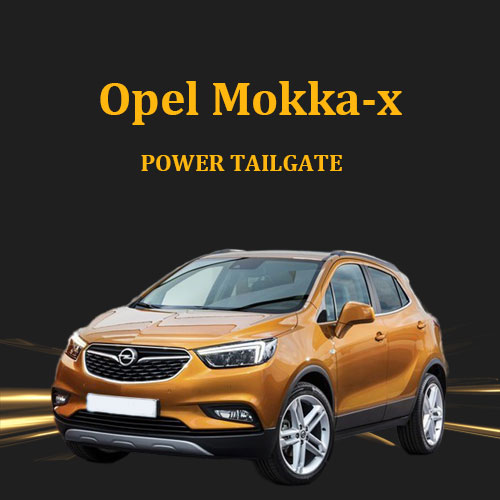 Automatic rear car trunk hands free easy opener power tailgate lift kit for Opel Mokka-X