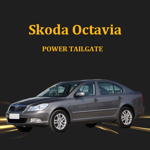 Electric tailgate lift power boot power operated tailgate for Skoda Octavia