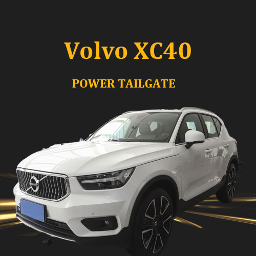 Auto car trunk lid hands free power tailgate lift with remote control soft close type for Volvo XC40