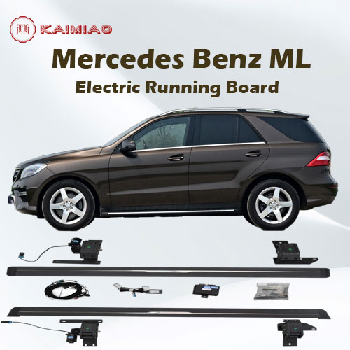 Global supply durable power deployable running board eboard power step for Mercedes Benz ML