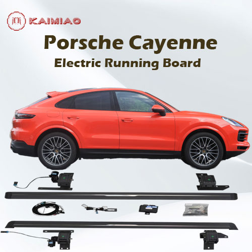 Porsche Cayenne plug N' play durable slicense electrical running boards foot side step