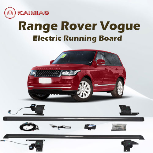 Auto body accessories intelligent 4*4 electric retractable running boards for Range Rover Vogue