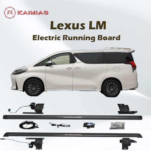 Global supplier exterior accessories power footrest e-board waterpoof for Lexus LM