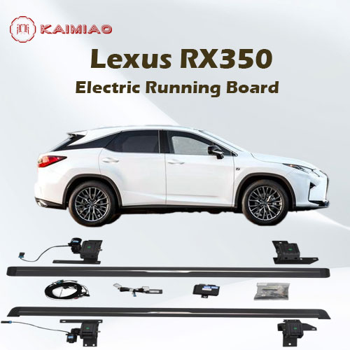 High strength and weather resistance 4*4 power side step integrated LED light system for Lexus RX270 RX350 RX450h