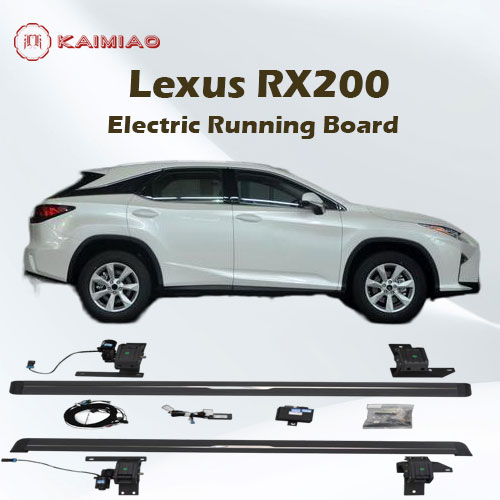 Die-cast aluminum parts anti-corrosion automatic electric running board for Lexus RX200T RX450