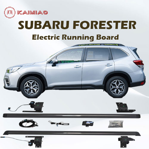High quality aluminum alloy automatic retractable electric running board side step For Subaru Forester