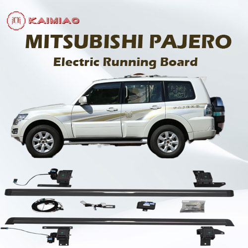 Side step for car Aluminum Running board/Side Steps Bar for Mitsubishi Pajero