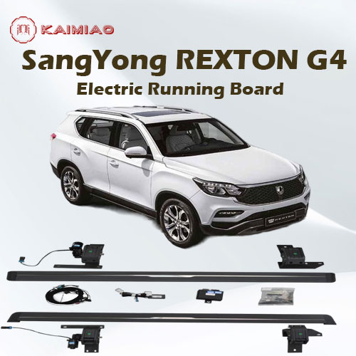 4x4 Double Cab side steps running board For SsangYong REXTON-G4