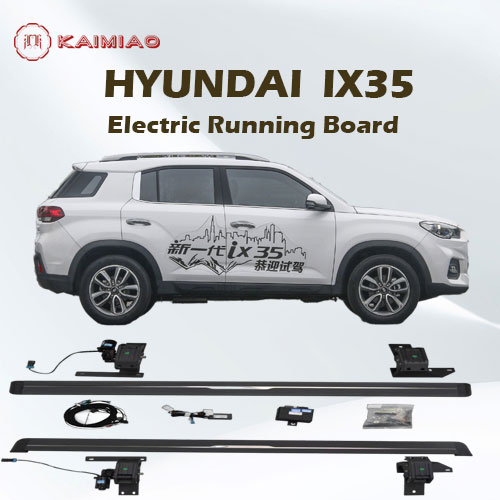 Multi-function electric pedal power running side step for Hyundai IX35