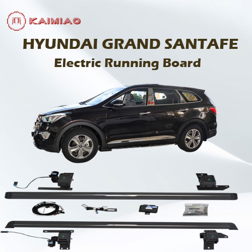 2021 multifunctional atmosphere light function power side step for Hyundai Gand Santafe