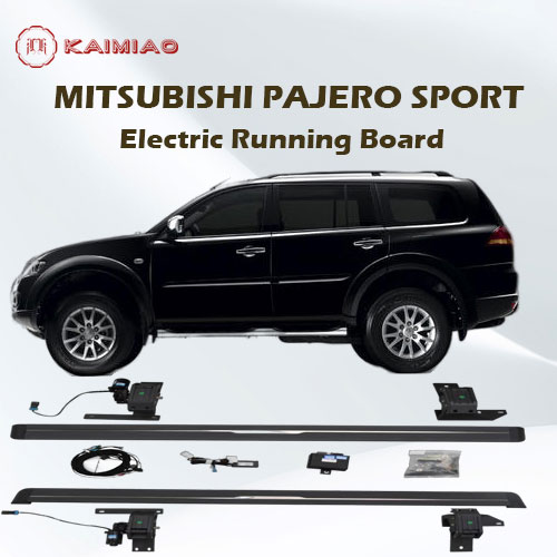 Wholesale alloy aluminum Side step for SUV Running board/Side Steps Bar For Mitsubishi Pajero Sport