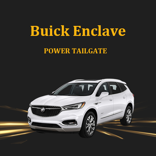 Electric automatic rear trunk electric power tailgate boot lid lift kit for Buick Enclave 2021