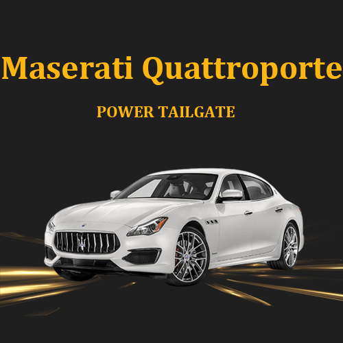 Maserati Quattroporte intelligent electric tailgate lift power boot auto on off with remote control