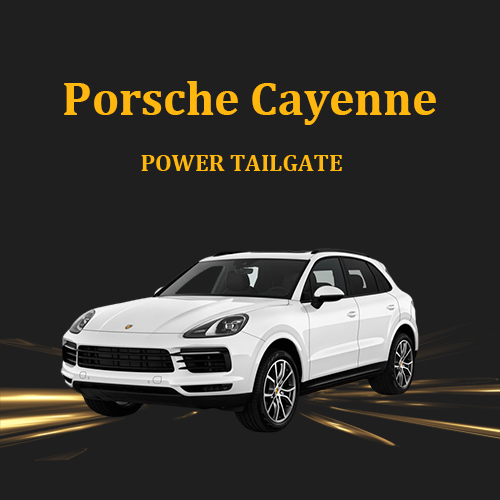 New Intelligent Electric Tailgate refitted Tail door Accessory Power Lift gate For Porsche Cayenne 2012+