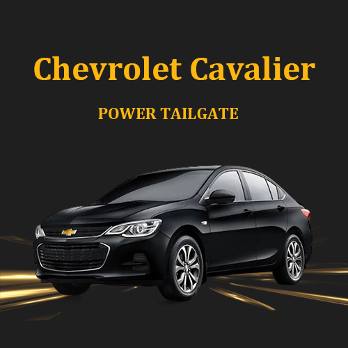 Electric tailgate power boot power specialist with foot sensor optional for Chevrolet Cavalier 2019+