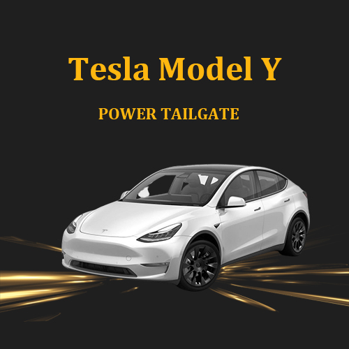Great anti-pinch electric tailgate car lift retrofitted with kick sensor optional for Tesla Model Y